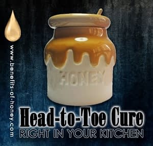 head-toe-cure with honey poster