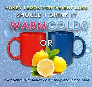 hot or cold honey lemon drink