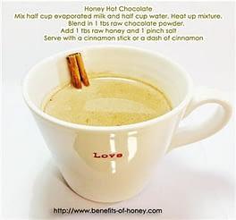 honey hot chocolate recipe
